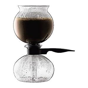 Bodum Pebo Vacuum 8 Cup Coffee Maker 1.0L (34oz) Black