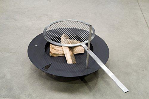 Radius Fireplate-Feuerstelle 75cm (Stahl schwarz) jetzt bestellen