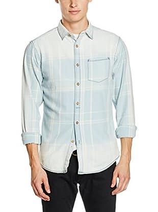 Springfield Camisa Hombre (Azul Claro)