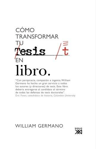 Cómo transformar tu tesis en libro