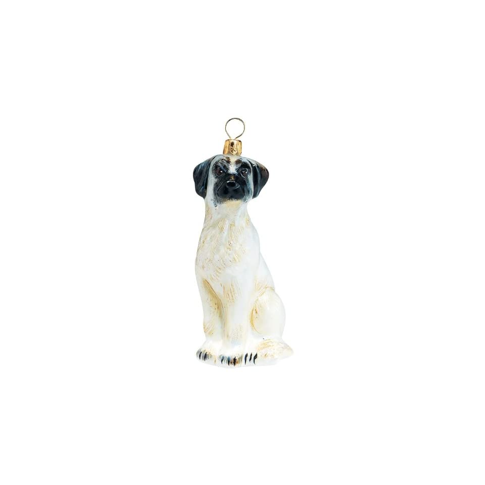 The Pet Set Blown Glass European Dog Ornament by Joy to the World Collectibles   Anatolian Shepherd