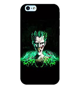 TOUCHNER (TN) Alien Back Case Cover for Apple iPhone 6