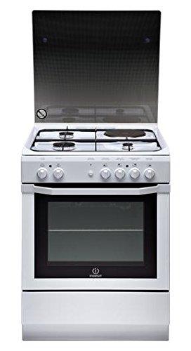 Indesit I6MSCAG(W)/FR cuisinière - fours et cuisinières (Autonome, Blanc, Electrique, Combiné, Convection, Grill, réchauffer, A)