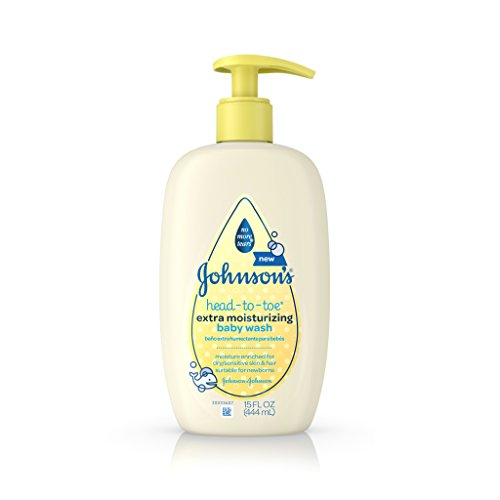 Johnson's Head-To-Toe Extra Moisturizing Baby Wash, 15 Fl. Oz