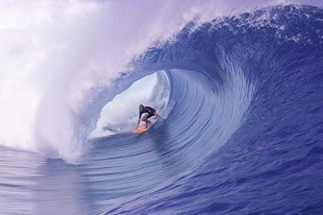 Teahupoo Wave Poster Teahupoo Tahiti Poster Photo