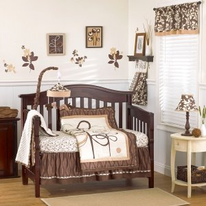 CoCaLo Pewter - Four Piece Crib Set - 1