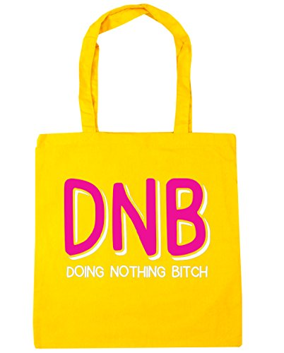 hippowarehouse-dnb-doing-nothing-bitch-tote-shopping-gym-beach-bag-42cm-x38cm-10-litres