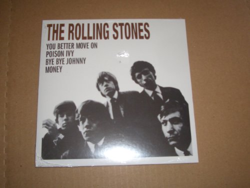 THE ROLLING STONES 7 45 RPM EP RECORD STORE DAY VINYL YOU BETTER MOVE ON POISON IVY by KEITH RICHARDS, BRIAN JONES, BILL WYMAN & CHARLIE WATTS MICK JAGGER and THE ROLLING STONES