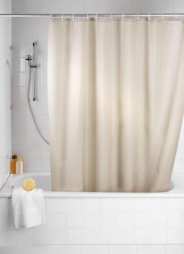 wenko-20045100-rideau-de-douche-en-textile-beige-anti-moisissure-dimensions-180x200-cm