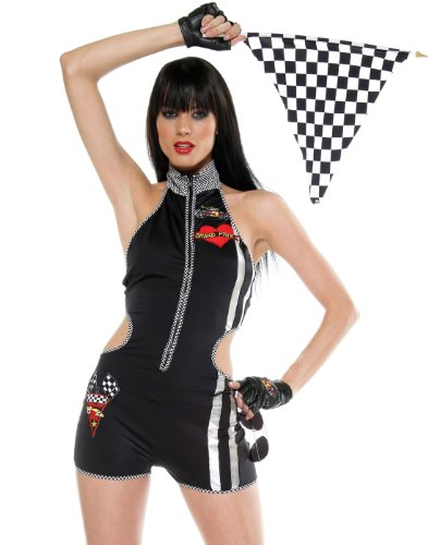 Forplay Women's Turbo Minx Adult Sized Costumes
