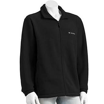 Columbia Sportswear Flattop Mountain Fleece Jacket - Black Mens XXL by Columbia