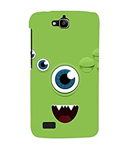 Animated Eye 3D Hard Polycarbonate Designer Back Case Cover for Huawei Honor Holly :: Honor Holly
