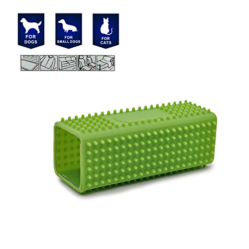 pet-hair-remover-brush-dogs-cats-grooming-tools-shedding-two-color-by-petutur-green