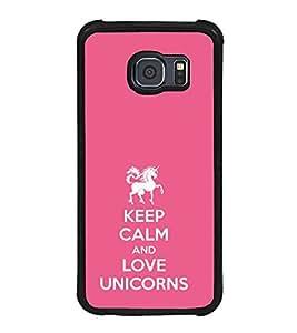 ifasho Designer Phone Back Case Cover Samsung Galaxy S6 Edge :: Samsung Galaxy S6 Edge G925 :: Samsung Galaxy S6 Edge G925I G9250 G925A G925F G925Fq G925K G925L G925S G925T ( Cute Cat Clock )