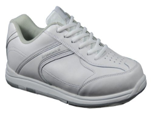 Brunswick Youth Flyer Bowling Shoes (White, 1)