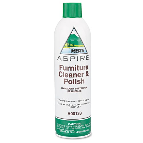 Misty A133-20 20 Oz. Aspire Furniture Cleaner and Polish in Aerosol Can