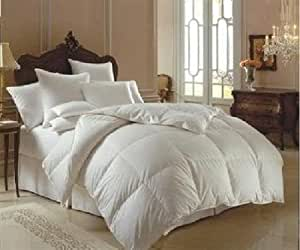 royal egyptian beddir oversize 500 thread count goose down comforter solid. Black Bedroom Furniture Sets. Home Design Ideas