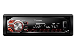Pioneer MVH-160Ui RDS Tuner with Illuminated Front USB