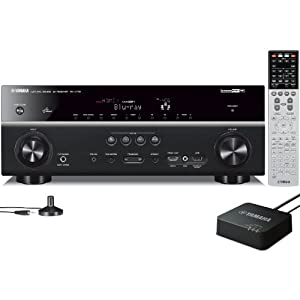 Yamaha RX-V773WA 7.2-Channel Network AV Receiver with wireless adapter