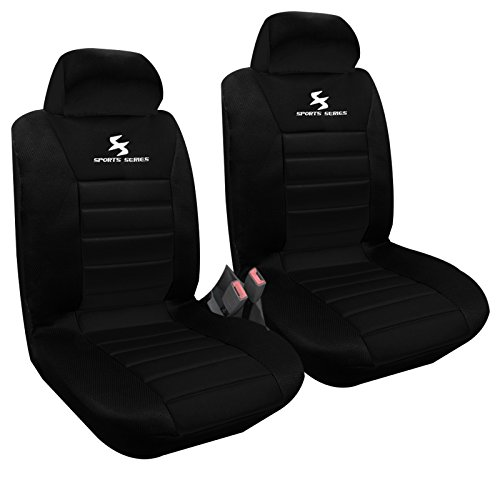 WOLTU® 2 x Vordere Autositzbezug Sitzbezüge Schonbezüge...
