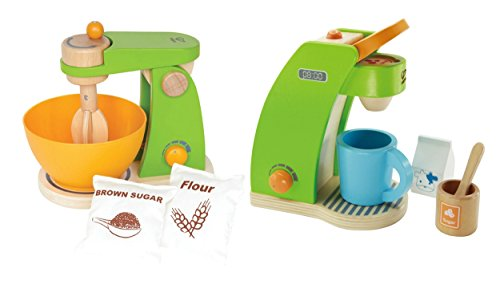 Hape Mighty Mixer & Coffee Maker Play Set