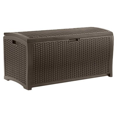 Haggerty 73 Gallon Deck Storage Box by Darby Home Co, Well Made, More Storage, Perfect for Outdoors, Elegant Design, Color Brown