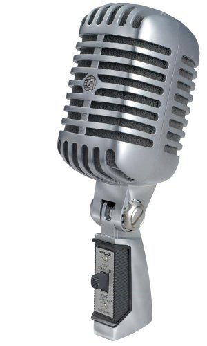 Shure 55SH Series II Iconic Unidyne Vocal Microphone (The Elvis Microphone)