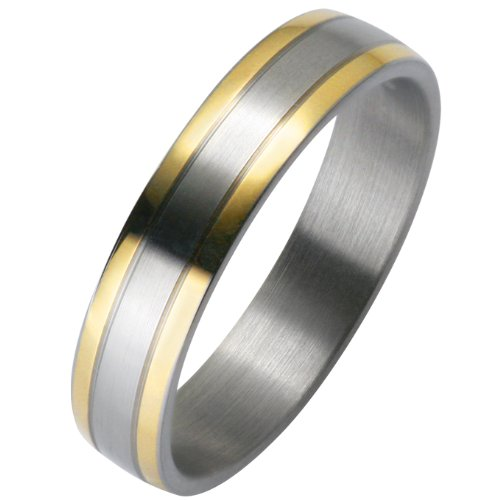 Liebe² 0506001020S064 Unisex Wedding Ring Stainless Steel Size 64 / V 1/2