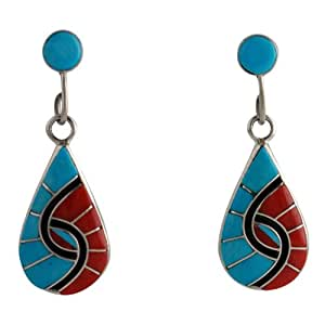 amy wesley sterling silver turquoise coral