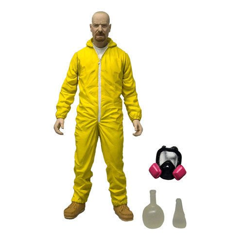 Breaking Bad Walter White Hazmat Suit 6-Inch Action Figure - Loose