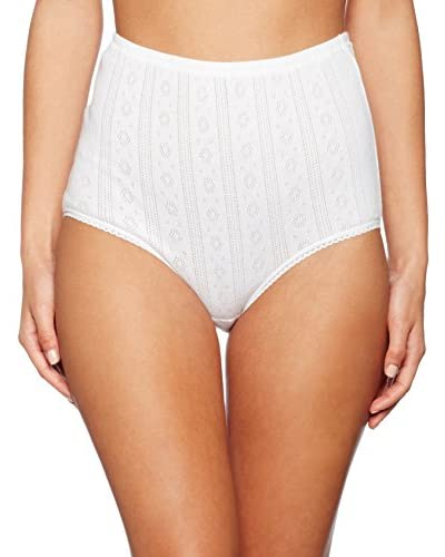 Playtex Pack x 6 Braguitas Blanco