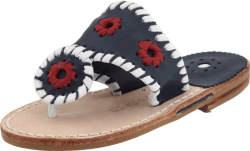 JACK ROGERS Kids' Miss Navajo Tod/Pre (Navy/White/Red 13.0 M)