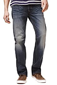North Coast Straight Fit Vintage Style Denim Jeans