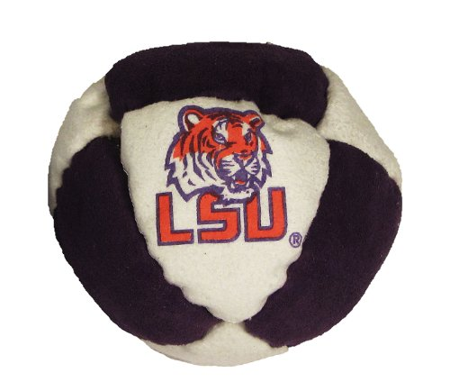 Hacky Sack - College Logo 8 Panelled Louisiana State Design