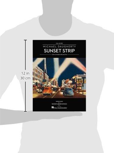 Sunset Strip: Chamber Orchestra: Full Score