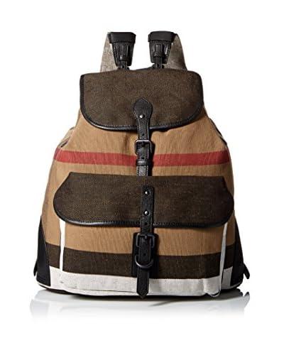 Burberry Men's Classic Backpack, Brown/Multi