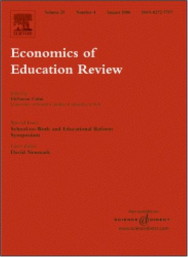 Benefits and costs of investments in preschool education: Evidence from the Child-Parent Centers and related programs [An article from: Economics of Education Review]