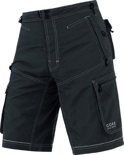 Gore Bike Wear Mens Plaster Ultra II Shorts - Black, Small
