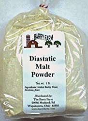Diastatic Malt Powder, 1 lb.