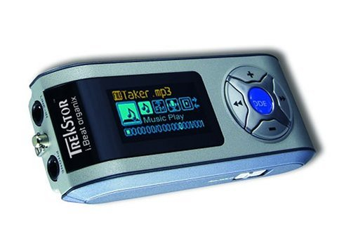 TrekStor i.Beat Organix 512 MB MP3 Player (Silver)