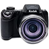 "Kodak AZ521, 16MP Camera with 52x Optical Zoom, 3"" LCD Screen, 1080p Video Recording - Black"