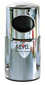 Revel CCM104CH 220-volt Wet and Dry Coffee Spice Grinder, Chrome by Gandhi - Appliances
