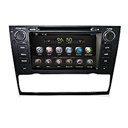 See Bosion 1Din Android Car Audio For BMW E90 Saloon E91 Touring E93 Cabriolet Color Black 7Inch Details