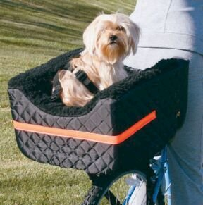 Snoozer Pet Rider Rear Bicycle Seat, Black