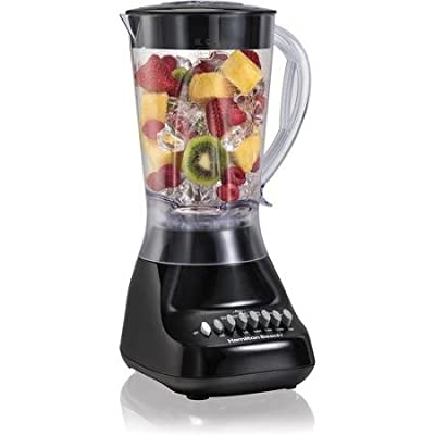Smoothie 10-speed Blender Black Is Ideal for Smoothies, Shakes and Icy Drinks