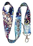 Kingdom Hearts Neck Lanyard BLUE 25mm X 45cm Keychain Holder Mp3 Camera Holder