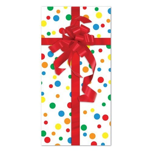 Party Gift Door Cover Party Accessory (1 count) (1/Pkg) - 1
