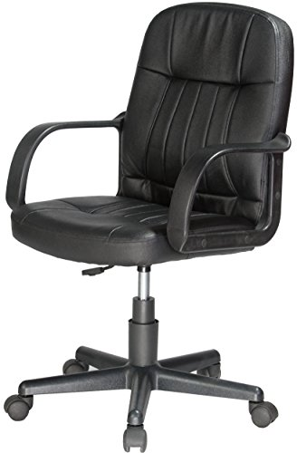 best deals comfort products 60 5607m mid back leather office chair