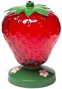 Perky Pet Strawberry Hummingbird Feeder Plastic 48 Oz