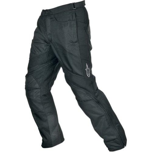 Alpinestars Air-Flo Men's Textile Street Motorcycle Pants - Black / X-Large